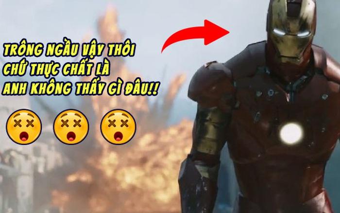 Bộ giáp sắt trong Iron Man 1 khiến Robert Downey Jr.