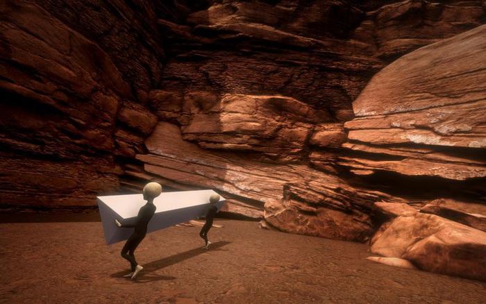 Nhanh như một cơn gió, khối kim loại kỳ bí giữa hoang mạc đã biến mất