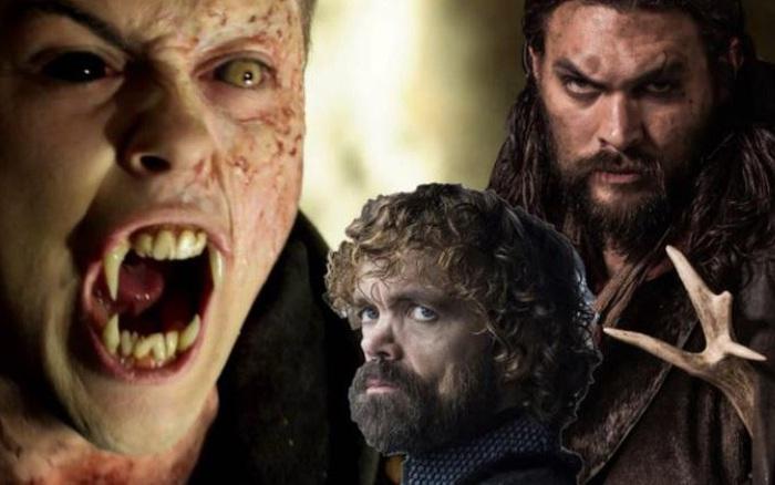 """Hậu Game of Thrones, """"Khal Drogo"""" và """"Quỷ Lùn"""" rủ nhau đi đóng phim Ma cà rồng"""