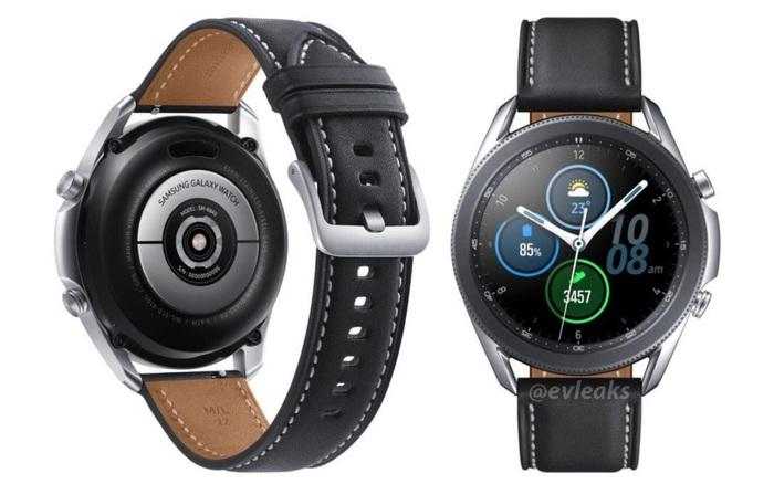 Samsung Galaxy Watch 3 lộ hình ảnh thiết kế chi tiết và rõ nét nhất