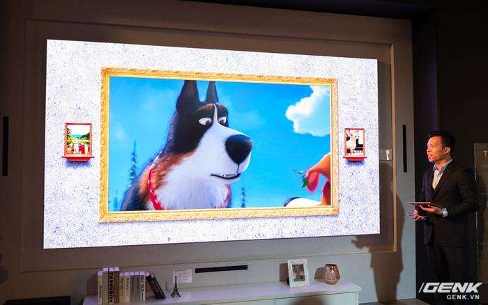 Cận cảnh TV Samsung The Wall mới: Sử dụng tấm nền MicroLED, tuổi thọ 100.000 giờ, không burn-in, kích...