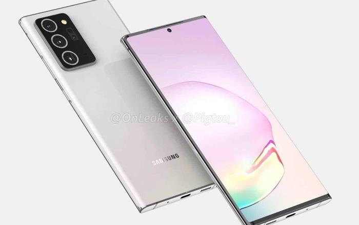 Samsung Galaxy Note 20+ sẽ có màn hình cong, Note 20 có màn hình phẳng