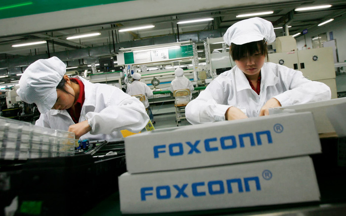"""Chủ tịch Foxconn: """"Những ngày Trung Quốc là công xưởng của thế giới đã hết rồi"""""""