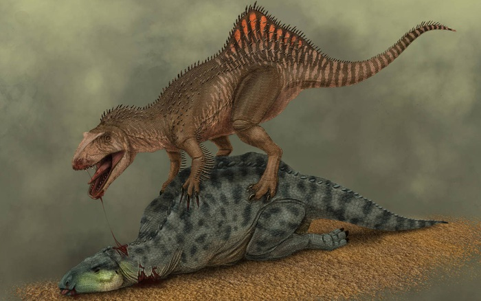 Loài khủng long ăn thịt có bướu kỳ lạ được tìm thấy ở Tây Ban Nha - xs thứ hai
