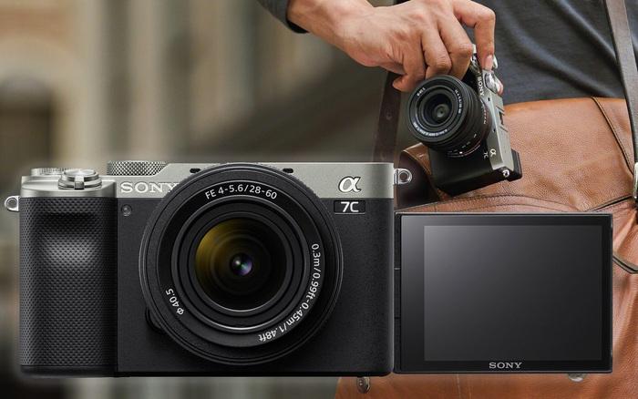 Sony trình làng A7C: Máy ảnh mirrorless full-frame nhỏ gọn nhất thế giới, cảm biến BSI CMOS 24MP, chống rung body 5 trục, quay 4K 30fps, nặng hơn chỉ 1% so với a6600 APS-C