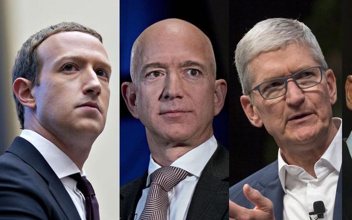 Tài sản của 10 tỷ phú công nghệ