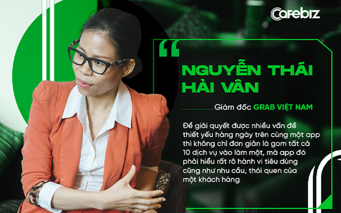 Giám đốc Grab Việt Nam: Super app không thể cạnh tranh bằng