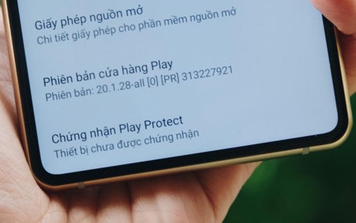 Google chặn ứng dụng trên trên thiết bị Android