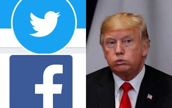 Facebook, Twitter đồng loạt khóa tài khoản của Tổng thống Mỹ Donald Trump