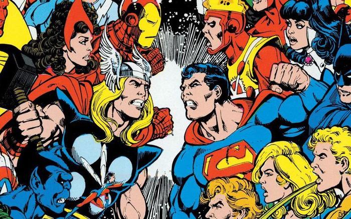 Những lần hợp tác khiến fan đứng ngồi không yên giữa cặp đối thủ không đội trời chung DC - Marvel