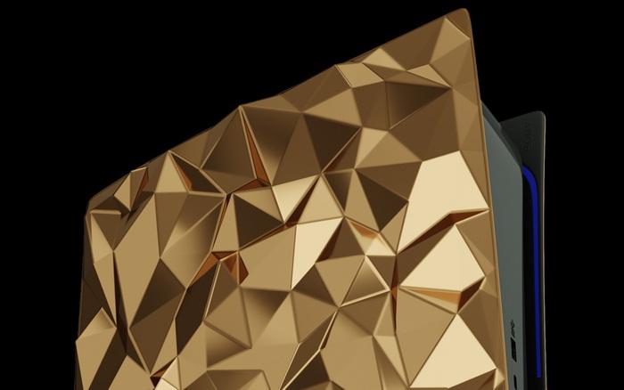 Phát thèm với phiên bản PlayStation 5 mạ vàng 18 cara trị giá tới 500 ngàn USD của Caviar