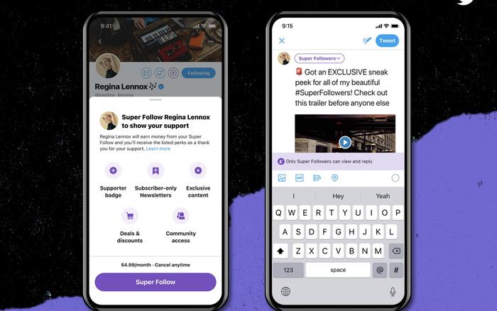 Twitter ra mắt tính năng trả phí Super Follows, 4,99 USD một tháng