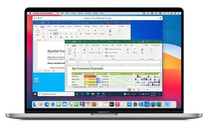 Bạn đã có thể chạy Windows 10 trên máy Mac sử dụng chip M1 của Apple