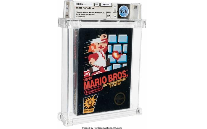 Một hộp game Mario phiên bản cực hiếm vừa được bán đấu giá thành công với số tiền 15 tỷ VNĐ