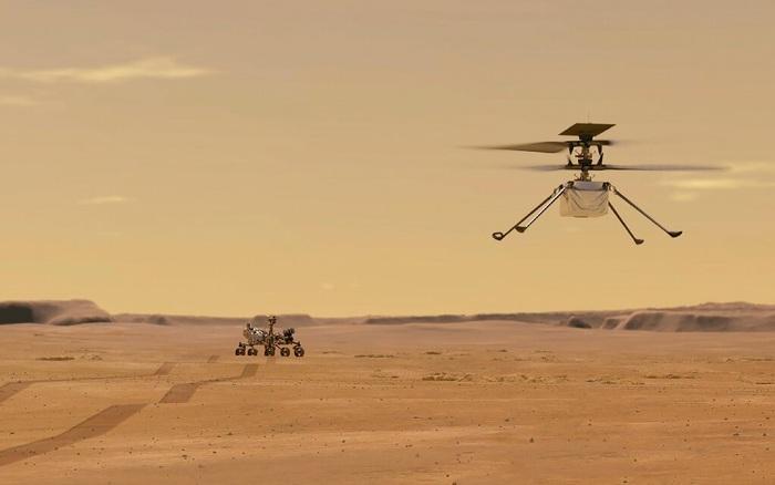 Trực thăng sao Hỏa của NASA hạ cánh thành công, sắp thực hiện chuyến bay lịch sử đầu tiên trên Hành tinh Đỏ