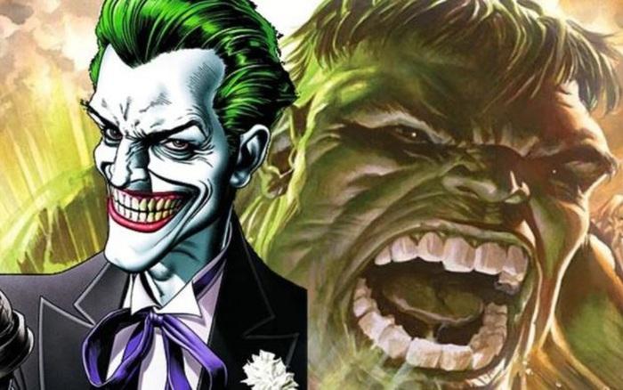 Điểm chung sâu xa ít ai biết của Joker và Hulk, 2 nhân vật thuộc 2 vũ trụ khác nhau và không có bất cứ mối quan hệ nào cả