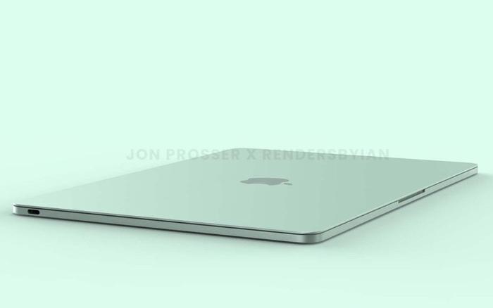 MacBook Air mới lộ diện với thiết kế