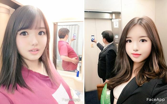 Thêm 1 ông chú Nhật Bản biến hóa thành hotgirl nhờ sử dụng