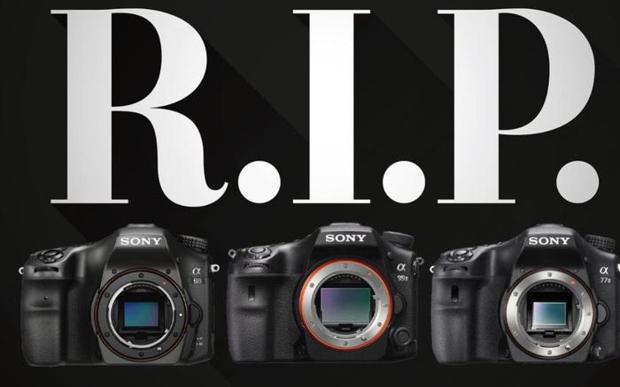 Tạm biệt A-mount: Sony ngừng sản xuất máy ảnh DSLR cuối cùng của mình