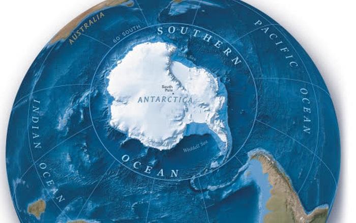 Trái đất vừa có thêm một đại dương mới, mang tên Nam Đại Dương