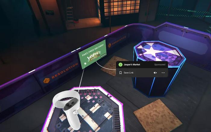Facebook chuẩn bị bật quảng cáo trong môi trường thực tế ảo của Oculus Quest