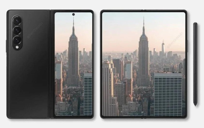 Tin đồn: Camera ẩn dưới màn hình của Galaxy Z Fold3 có độ phân giải 4MP, chất lượng tương đương Vsmart Aris Pro