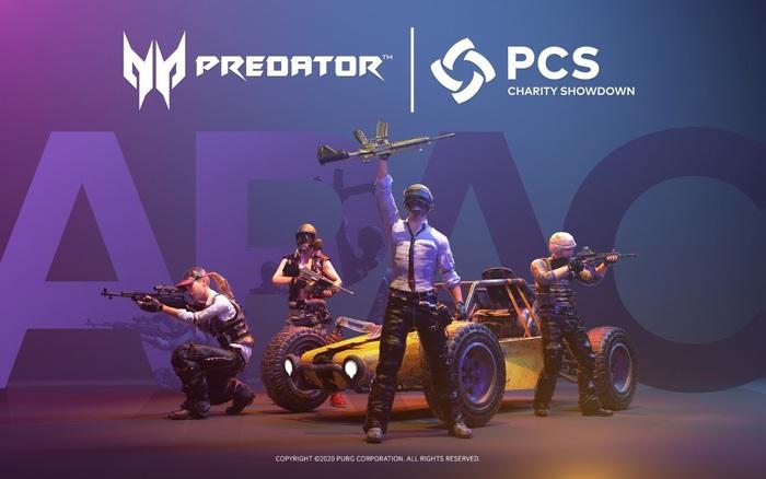 Acer Predator là nhà tài trợ chính thức cho giải đấu vì cộng đồng PUBG Continental Series (PCS) APAC...