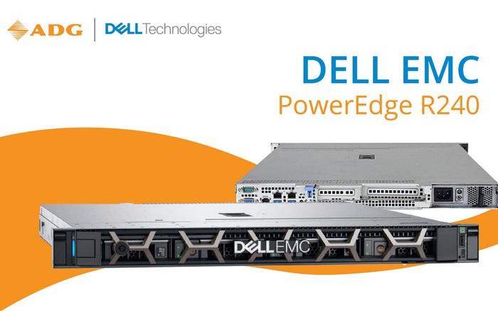 Dell EMC PowerEdge R240 - Máy chủ 1U dạng Rack được thiết kế cho các doanh nghiệp vừa và nhỏ với ngân sách tối ưu nhất