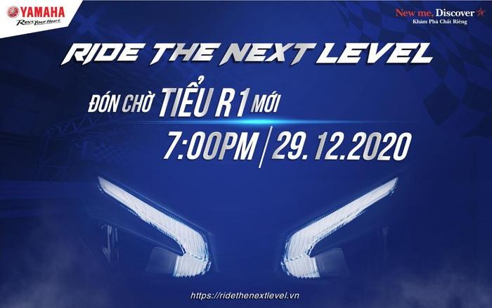 """""""Tiểu R1"""" sắp ra mắt, bạn đã sẵn sàng chiêm ngưỡng siêu phẩm mới của Yamaha Motor Việt Nam chưa?"""